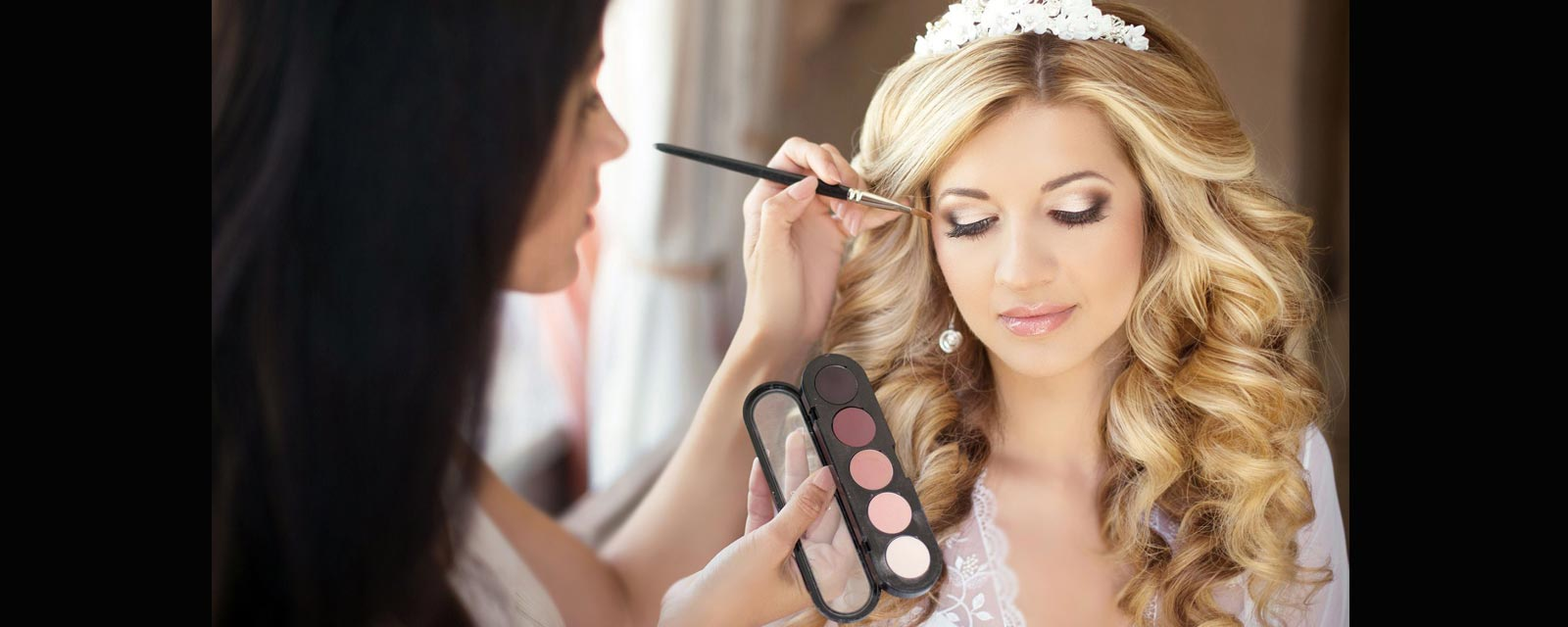 عکس نمونه آرایش عروس