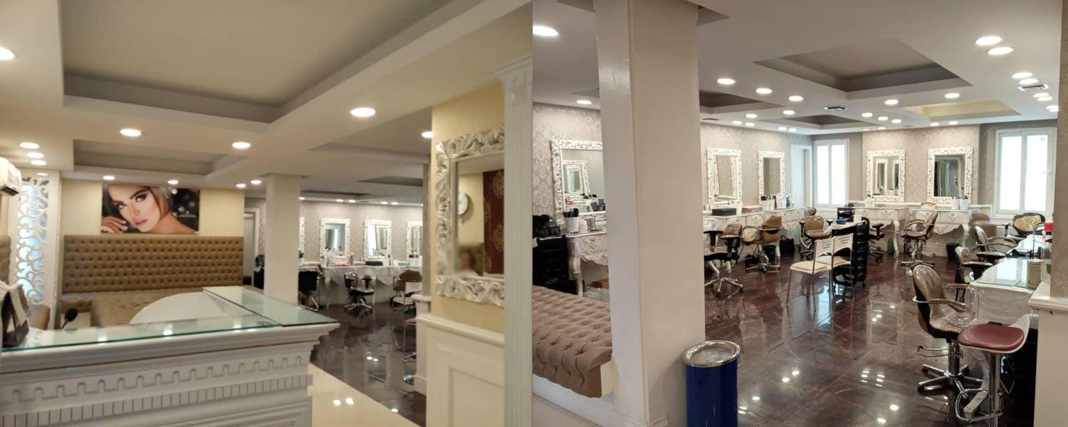 عکس داخل آرایشگاه زنانه عروس سرای ونک تهران