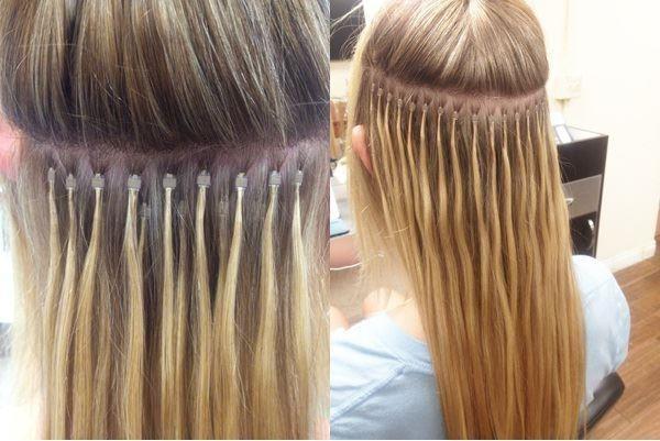 نمونه در آرایشگاه اکستنشن مو و مژه