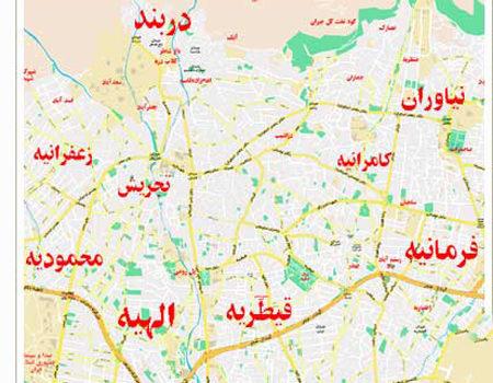 بهترین آرایشگاه و سالن آرایش عروس در مناطق شمال تهران